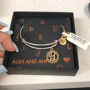 "Brand new Alex And Ani ""B"" bracelet"